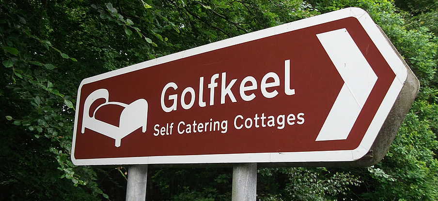 Golfkeel Self Catering Banbridge - How to find us